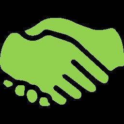 Handshake Sheela Hobden www.bluegreencoaching.com